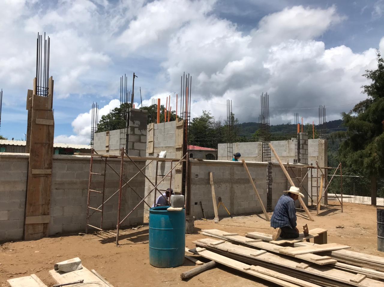 Construcción vivienda en Guatemala